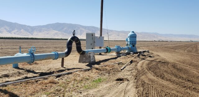 Groundwater metering project